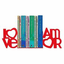 Aparador De Livros Love Amor - Geguton