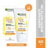 Hidratante Facial Efeito Matte Fps30 Garnier 40g