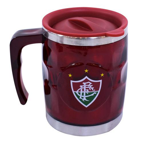 Caneca Térmica Com Tampa 450ml Fluminense - Qh015-6-b F1 b230af933b203
