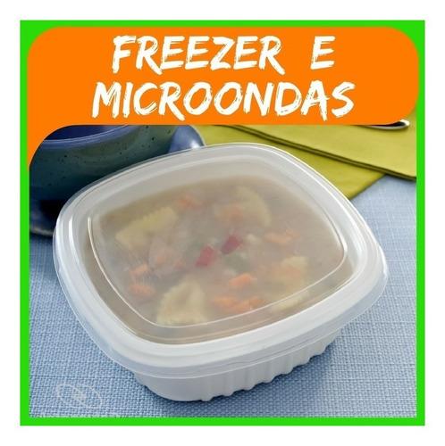 Marmita Pote 400ml Caldo Sopa Freezer Microondas G308