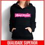 Moletom Demi Lovato Feminino Casaco Canguru/blusa De Frio