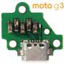 Dock Conector Cabo Moto G3 Xt1543 Xt1544 Com Placa