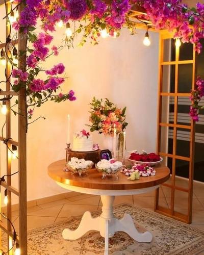Pergolado Casamento/festa/eventos Madeira Maciça Reflorestam