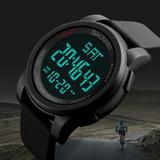 Relógio Masculino Esportivo Digital Led Pulseira Silicone
