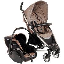 Carrinho Bebê Travel System Helios Kiddo Com Bebê Conforto