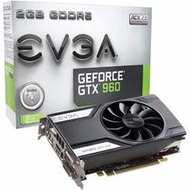 Placa De Vídeo Gtx960 Vga Evga Geforce 2gb Ddr5 128bits