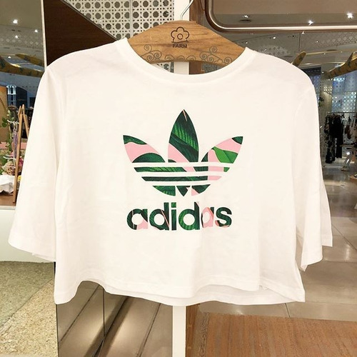 b58a0adb5 Cropped Floresta Linda Original adidas Farm Com Tags