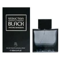 Perfume Antonio Banderas Seduction In Black Masculino-100ml