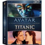 Box : Avatar + Titanic - 6 Discos - Original Blu-ray 3d + 2d
