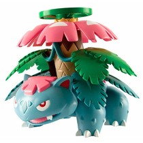 Pokemon Battle Attack - Mega Venusaur - Articulado - Tomy