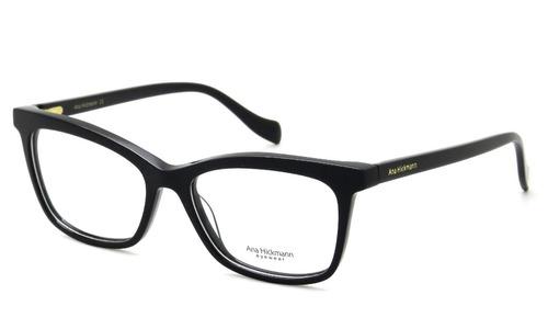 Óculos De Grau Feminino Ana Hickmann Ah6335 A01 54 - Preto - R  420 ... f320ddc826