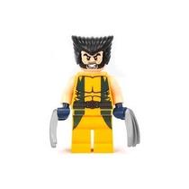 Wolverine Bloco De Montar Boneco Novo