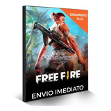 Free Fire 1342 Diamantes (1220+122) Garena Recarga P/ Conta
