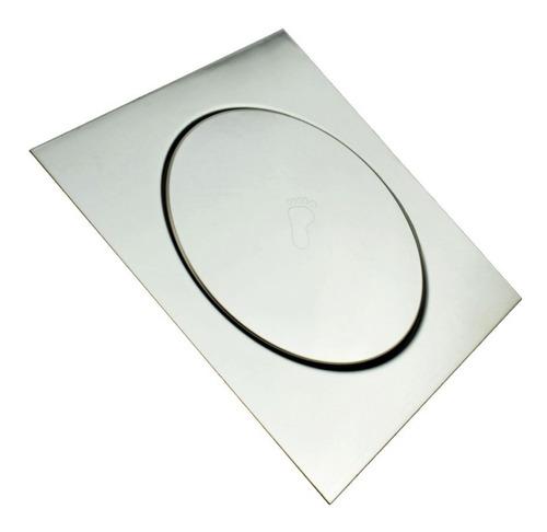 Ralo Inteligente Pop Up Click 10 Cm Quadrado De Banheiro