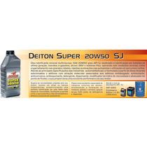 Dt0001-oleo Motor Mineral Multiviscoso Deiton Sj 20w50