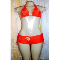 Biquine Feminino Marca Mil Mares Modelo Shorts Tam.grande S8