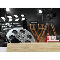 Adesivo Decoração Musica Filme Sala Tv Quarto Parede Mod01