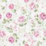 Papel De Parede Floral Infantil Menina Rosa Adesivo Video