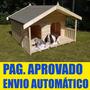 10 Projetos/ Manuais De Construção De Casinha Para Cachorro