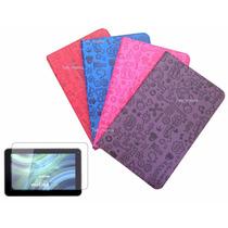 Capa Case Desenhos Tablet Cce 10 Polegadas +pelicula+caneta