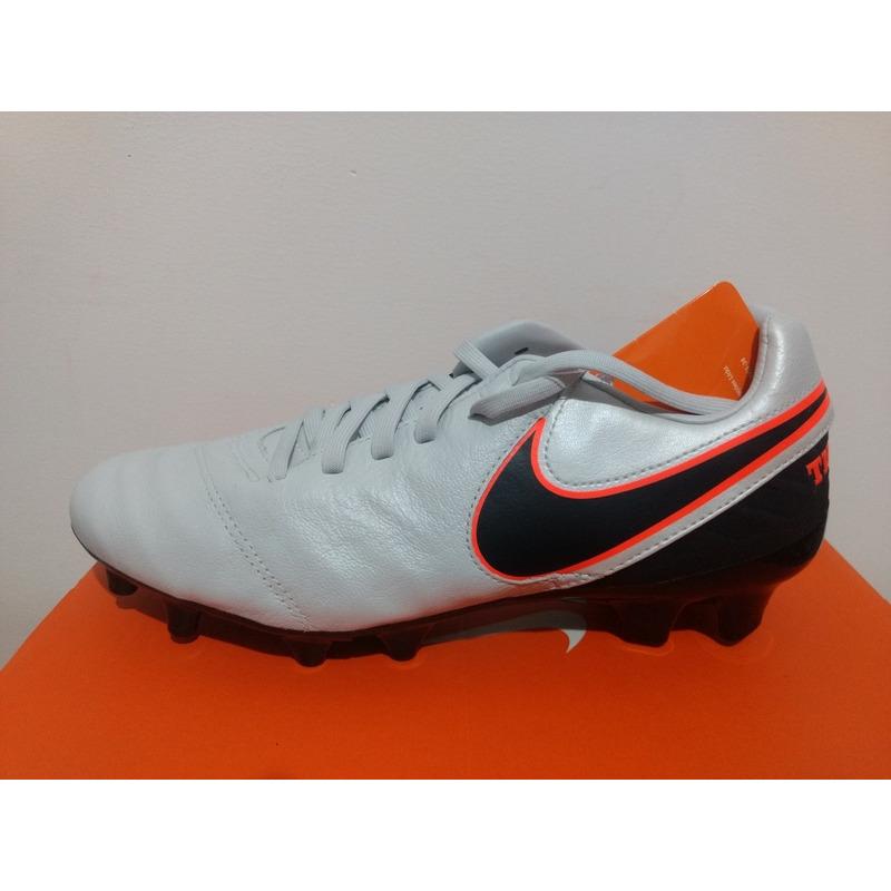 Chuteira Campo Nike Tiempo Mystic V- Original -outlet sports em ... 9b71d1bf56e9a