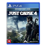 Just Cause 4 Day One Ps4 Mídia Física Pronta Entrega