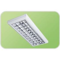 Luminária P/ Tubular Sobrepor Escritório 2x20 T8 / T10
