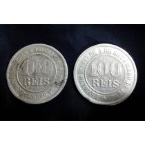 Coleção De Moedas 100 Reis Com 1889 Do Império E República