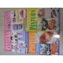 Lote De 9 Revistas De Pintura Em Tecido E Crochê