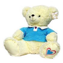 Pelúcia - Urso Grande Camisa Azul