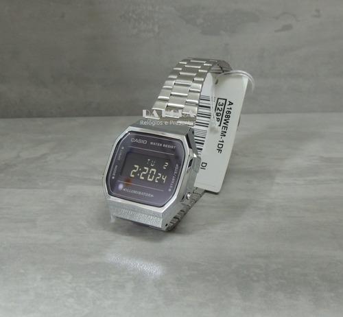 bbab2284d16 Lançamento Relógio Casio Vintage A168wem-1df (nf E Gar) - R  258 en ...