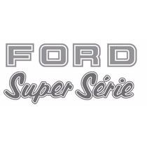 Adesivos F1000 Super Série Prata - 95 À 98 - Modelo Original