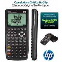 Calculadora Gráfica Hp 50g Com Capa Protetora Lacrada