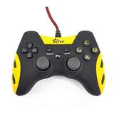 Controle Joystick Feir Fr-218a Amarelo