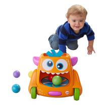 Brinquedo Interativo Monstro - Movimento E Bolinhas Divertid
