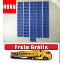 Borracha Korg Pa-50/ Pa-50 Sd Jogo Completo Frete Grátis