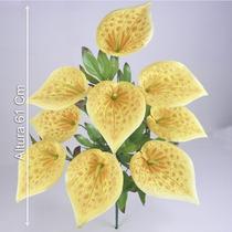 B. C/9 Copos De Leite 61cm Cor Diversa -flores Artificiais