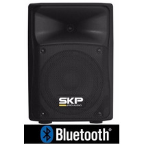 Caixa Ativa Amplificada Skp Sk-1p Falante 8 Usb - Bluetooth
