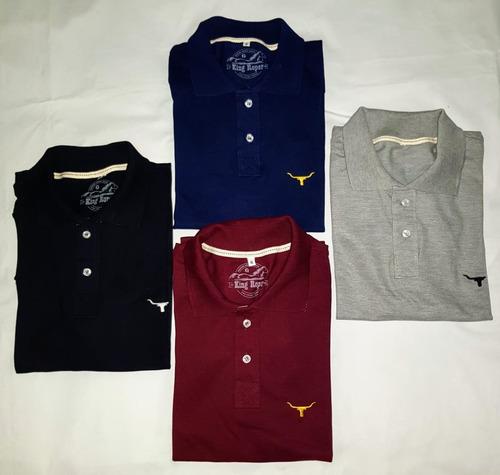 ee20d9ecb 10 Camisetas Polo Country No Atacado Tuff Long Horn 2k Txc à venda ...