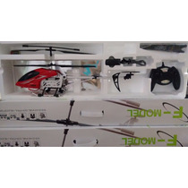 Helicoptero Sf 558 Com Camera Hd Filma E Tira Foto