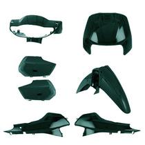 Kit Plástico Carenagem P/ Biz 100 Ano 2000 - Verde Metálico