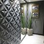 Forma Molde Gesso Placas 3d Plastico 1mm + Eva Floral Lg0032