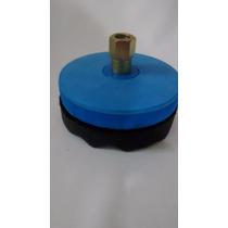 Kit Polimento Boina De Espuma 5 Com Velcro Disco E Adaptador