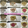 Kit C/10 Relógios Dourado Prata Bronze Atacado Melhor Preço