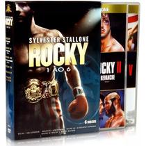Dvd Rocky A Saga Completa 1 Ao 6 Discos Novo Melhor Preço
