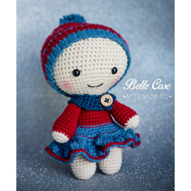 Boneca Yoyo Amigurumi no Elo7 | Lu Arte em Crochê (B931CF) | 210x210