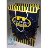 Sacola Personalizada Tamanho G Fazendinha Mickey Batman