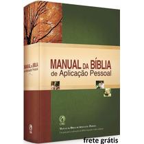 Manual Da Bíblia De Aplicação Pessoal - Frete Grátis
