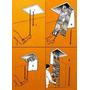 Escada Sótão De Alumínio Piso A Piso Até 3,20m