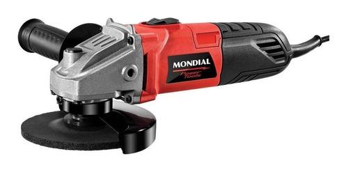 Esmerilhadeira Angular Mondial Fes-02 Vermelha 220v